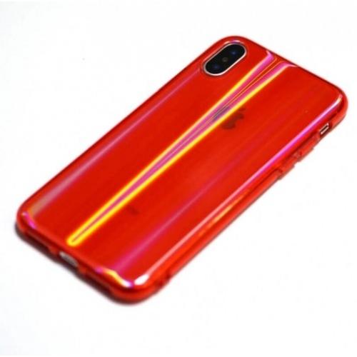 Apple iPhone XS Kılıf Dome Silikon Kapak Kırmızı