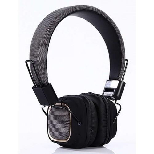 BT-019 Bluetootlu Renkli Kulaklık - Siyah